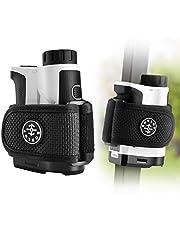 BOBLOV Golf Rangerfinder Magnetic Holder Strap,Universal Magnetic Straps for All Brand Rangefinder, 2pcs Big Strong Magnet&Adjustable Length,Easily Stick for Golf Cart Railing