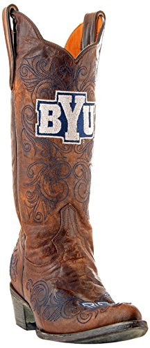 NCAA BYU Cougars Womens 13-Inch Gameday Boots Brass evNj9rqBv