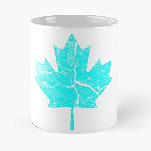 (Blue Maple Vintage Rustic - Morning Coffee Mug Ceramic Novelty Holiday)