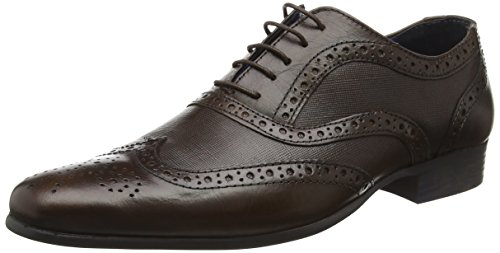 Carn Brogue Marrone Scarpe Basse Red 2 Tape Brown Stringate Uomo 5aqPaRBA6