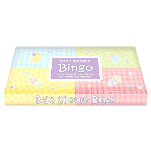 Amscan Delightful Bingo Game Baby Shower Party Novelty Favors, 1.2 x 13.1, -