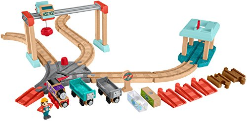 Fisher-Price Thomas & Friends Wood, Lift & Load Cargo Set