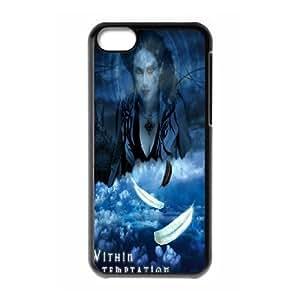 iPhone 5C Phone Case Within Temptation F5K7642