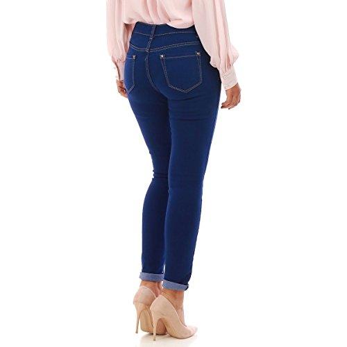 Slim Bleu La Coupe Jeans Modeuse UTTxw87Bq