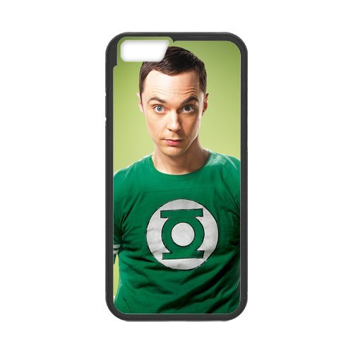 Fayruz- Personalized Protective Hard Textured Rubber Coated Cell Phone Case Cover Compatible with iPhone 6 & iPhone 6S - The Big Bang Theory F-i5G1130