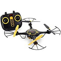 Tenergy Syma X5UW Wifi FPV RC Quadcopter Drone HD 720P Camera with Smart Phone App Easy to control for Beginner with 2 Batteries (Exclusive Black Yellow Color)