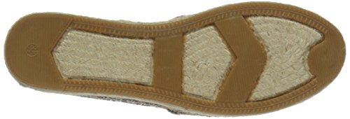 Kate Spade New York Womens Linds Anche Espadrillas Sandalo Con Zeppa In Oro Rosa
