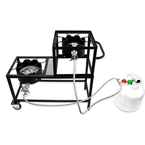 double burner propane cooker - 9