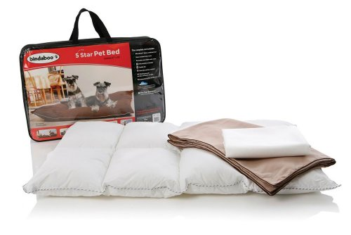 Cheap Bindaboo B2456 5 Star Pet Bed, Sandstone with Chocolate Trim, Medium