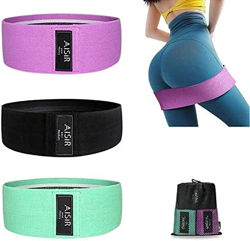 AISIR Resistance Bands Set WAS £15.99 NOW £9.59 w/code PGMXLG5I @ Amazon