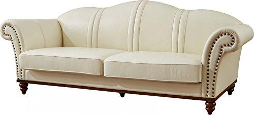 ESF 2601 Versachi II White Italian Leather SOFA Made In Italy Camelgroup Italy