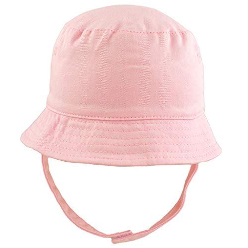 (Randolly Kids Hat  Cute Child Girl&Boy Crocodile Cartoon Fisherman Hat Sunscreen Outdoors Cap Pink)