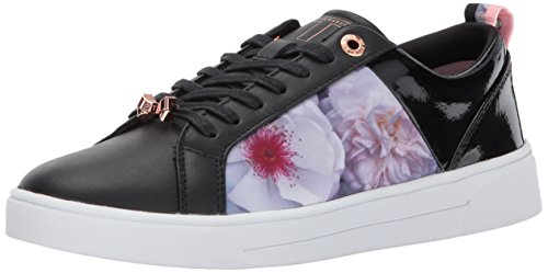 - Ted Baker Women's Fushar Sneaker, Black Chelsea, 10 M US