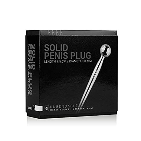 Sinner Gear - Pene Plug de metálico, con bola - (dilatador ...