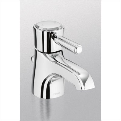 (TOTO TL970SD-PN Guinevere Single Handle Lavatory Faucet, Polished Nickel)