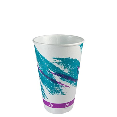Dart X16N-00055 16 oz Jazz Trophy Plus Hot/Cold Cup (Case of 750) 16 Ounce Jazz Design