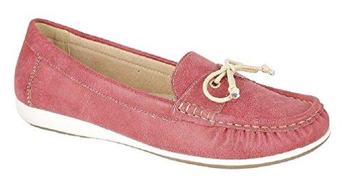 Sommer Loafer Freizeit, Rot Rot