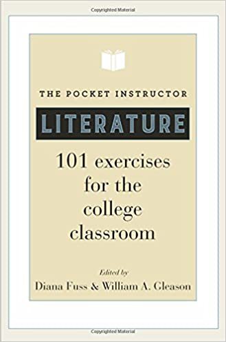 _INSTALL_ The Pocket Instructor: Literature: 101 Exercises For The College Classroom. Clemson pedir partners Kleine receptor