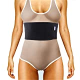 Everyday Medical Broken Rib Brace for Men and Women - Bamboo Charcoal Rib Support Compression Brace - accelerates The Healing of Cracked, Dislocated, Fractured and Post-Surgery Ribs - S/M