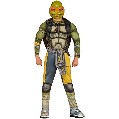 Teenage Mutant Ninja Turtles Movie Deluxe Michelangelo