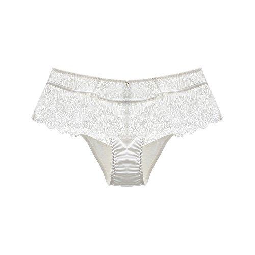 Lady confort ropa interior Calzoncillos cintura encaje calado at