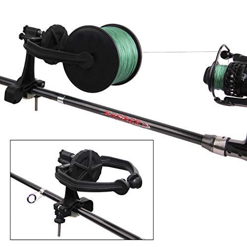 JSHANMEI Fishing Line Spooler Portable Spooling Station System Fishing Reel