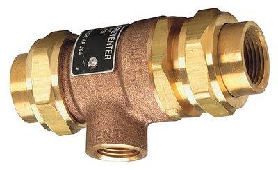 Watts Brass & Tubular #9D-M3 1/2 1/2'' Backflow Preventer by Watts