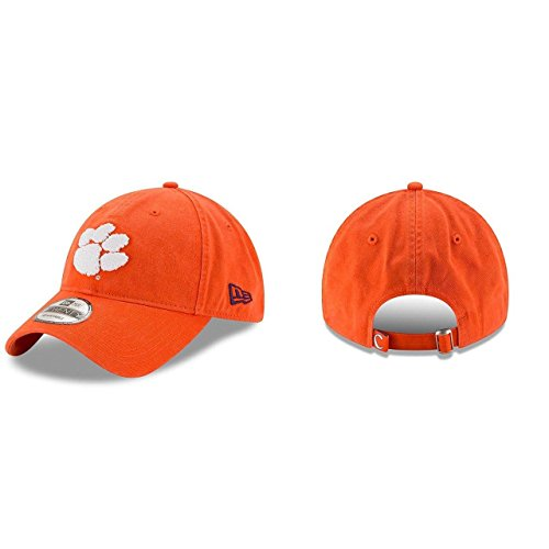 - New Era Men's Clemson Tigers Core Classic Orange One Size Fits All