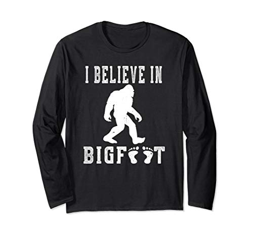 Funny Sasquatch T-shirt I Believe In Bigfoot Gift Idea -