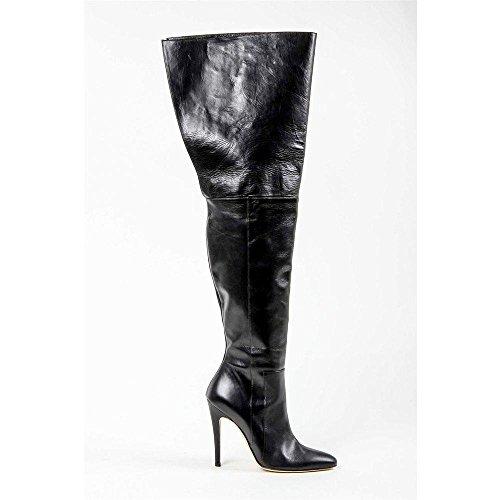 black-40-eur-10-us-manolo-blahnik-womens-high-boot-rihirosa-bcn-16aw