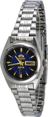 Orient #BNQ1X001D Women's Tri Star Blue Dial Automatic Watch