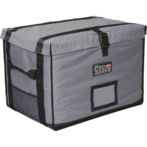 Rubbermaid Commercial Full-Size Food Pan Insulated Carrier, Gray, FG9F1600CGRAY (Rubbermaid Cookware)
