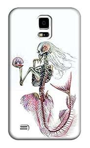 Sangu Skull Mermaid Hard Back Shell Case / Cover for Samsung Galaxy S5