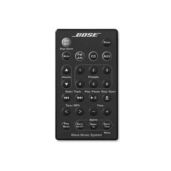 Bose Remote Control for Wave Music System AWRCC1 AWRCC2 1 This remote is for the Wave Music System with front-loading CD player Diese Fernbedienung ist für das Wave Music System mit Frontlader CD-Player 这款遥控器是, WAVE  音乐系统,前装 CD 播放器