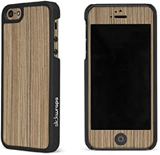 product image for Slickwraps Wood Series the Case for iPhone 5c - Natural Zebra - Carrying Case - Retail Packaging - Natural Zebra
