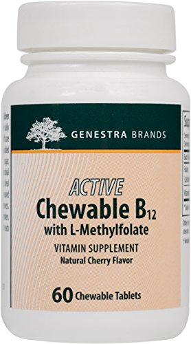 Genestra Brands Chewable L Methylfolate Supplement