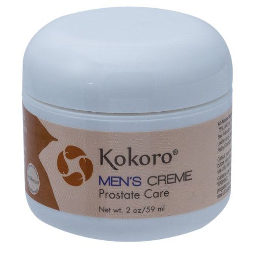Kokoro Men's Creme, Natural Progesterone, Herbal Prostate Ca