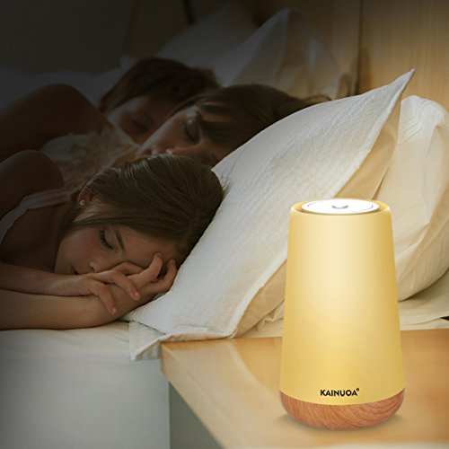 Kainuoa Touch Control Table Lamp, Led Smart With Bluetooth Speaker Control Night Light And Dimmable Color Control LED Light Bedside Lamp For Women, Teens, Kids, Children, Sleeping Aid by Kainuoa (Image #6)