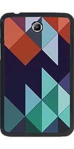"""Funda para Samsung Galaxy Tab 3 P3200 - 7"""" - Abstracto Geométrico 5"""
