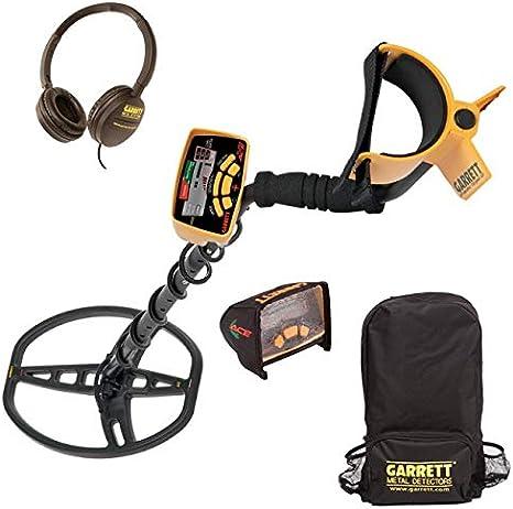 Garrett Euro Ace 350 - Detector de metales, color dorado + auriculares: Amazon.es: Jardín