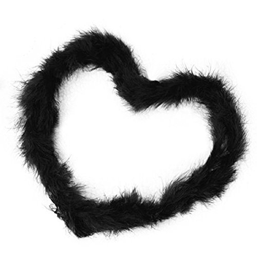 (tallahassee 2 Meters Feather Boa Scarf Costume Decoration Wedding Party Decor -)