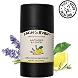 Each & Every Natural Aluminum-Free Deodorant for Sensitive Skin Made with Essential Oils, Plant-Based Packaging…