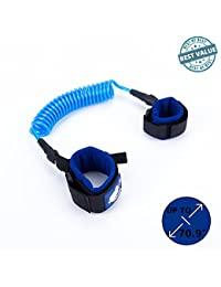 Anti Lost Safety Wrist Link Toddler Kid | Protect Child w/ Velcro Wrist Strap | Most Durable Wristband Leash/Harness | Soft Moisture Wicked Cotton Wrist Strap | Strong Coated Steel Wire | 5.9ft (Blue) BOBEBE Online Baby Store From New York to Miami and Los Angeles