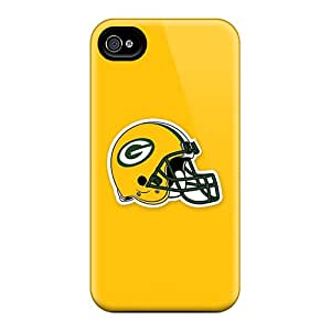 New Green Bay Packers 5 Tpu Skin Case Compatible With Iphone 4/4s