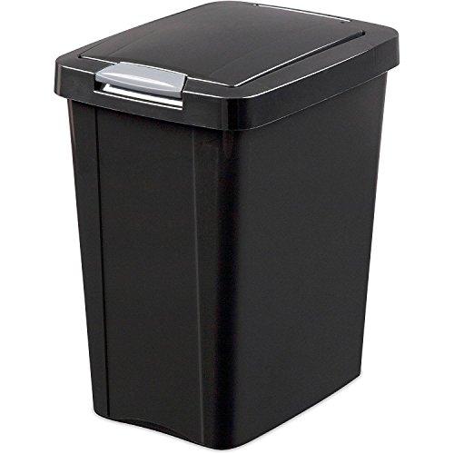 STERILITE 10439004 Wastebasket Touchtop 7 5g
