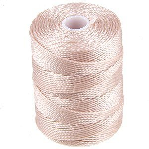 - C-LON Bead Cord, Sea Shell - 92 Yard Spool