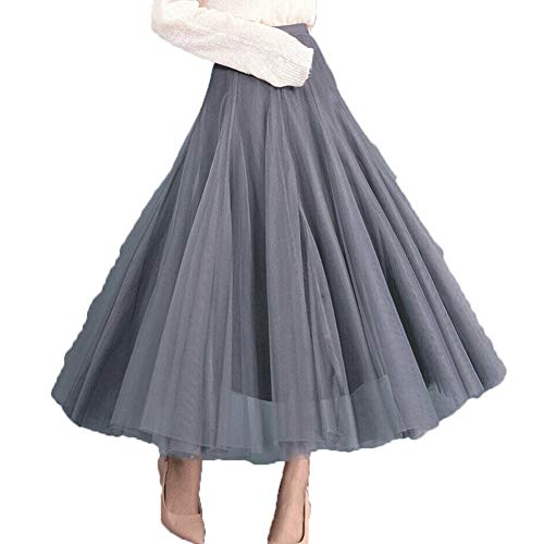 new products 06b3e 419e3 Frauen-elastische hohe Taille überlagerte Abschlussball ...