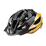 MCH-CoolChange Yellow EPS Material Integrally-molded Cycling Helmet