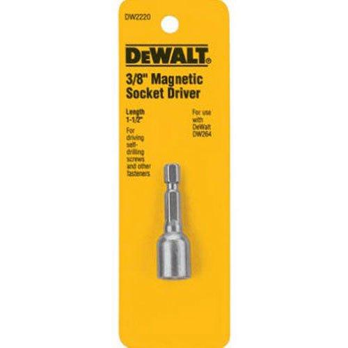 DEWALT DW2220 3/8 x 1-7/8 Magnetic Socket - Dewalt Hex Nuts