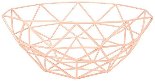 Danica Studio Gem Fruit/Storage Basket, Peach Pink